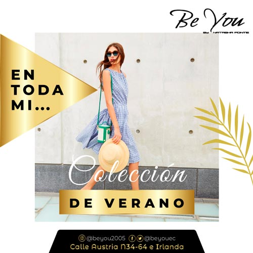 promociones de verano Be You by Natasha Fonte