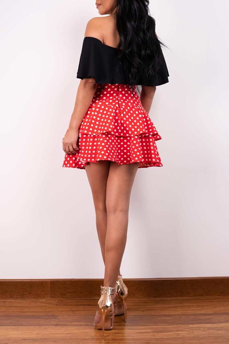 Falda Polka Dots Be You By Natasha Fonte 5