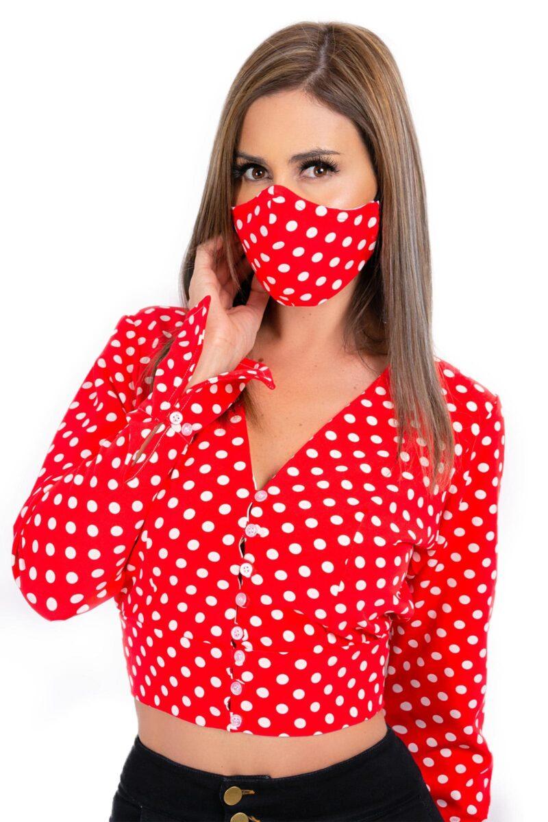 Blusa Polka Dots4