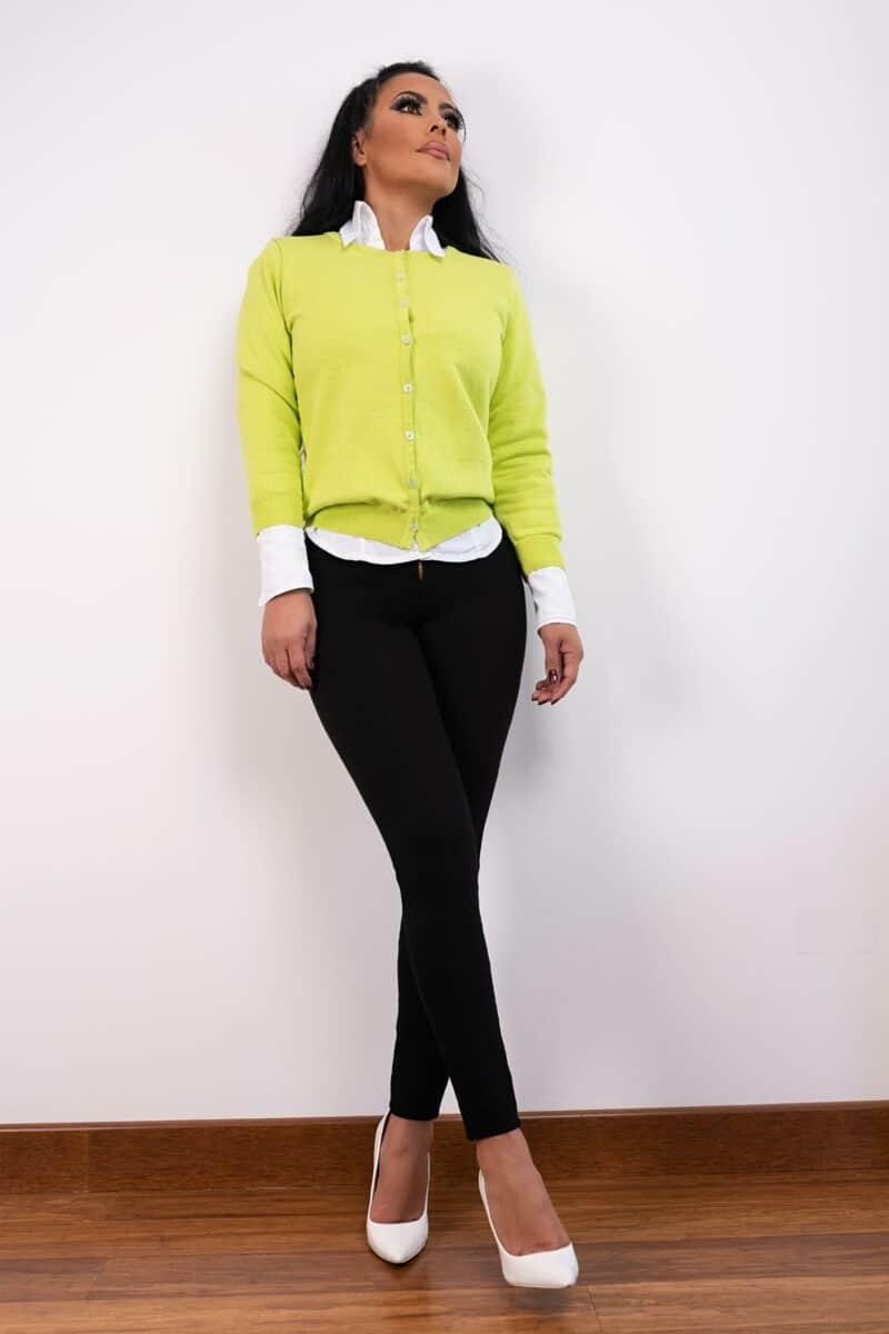 Saco Neon Verde1