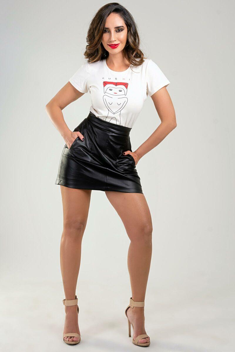 Falda Cuerina Mary9