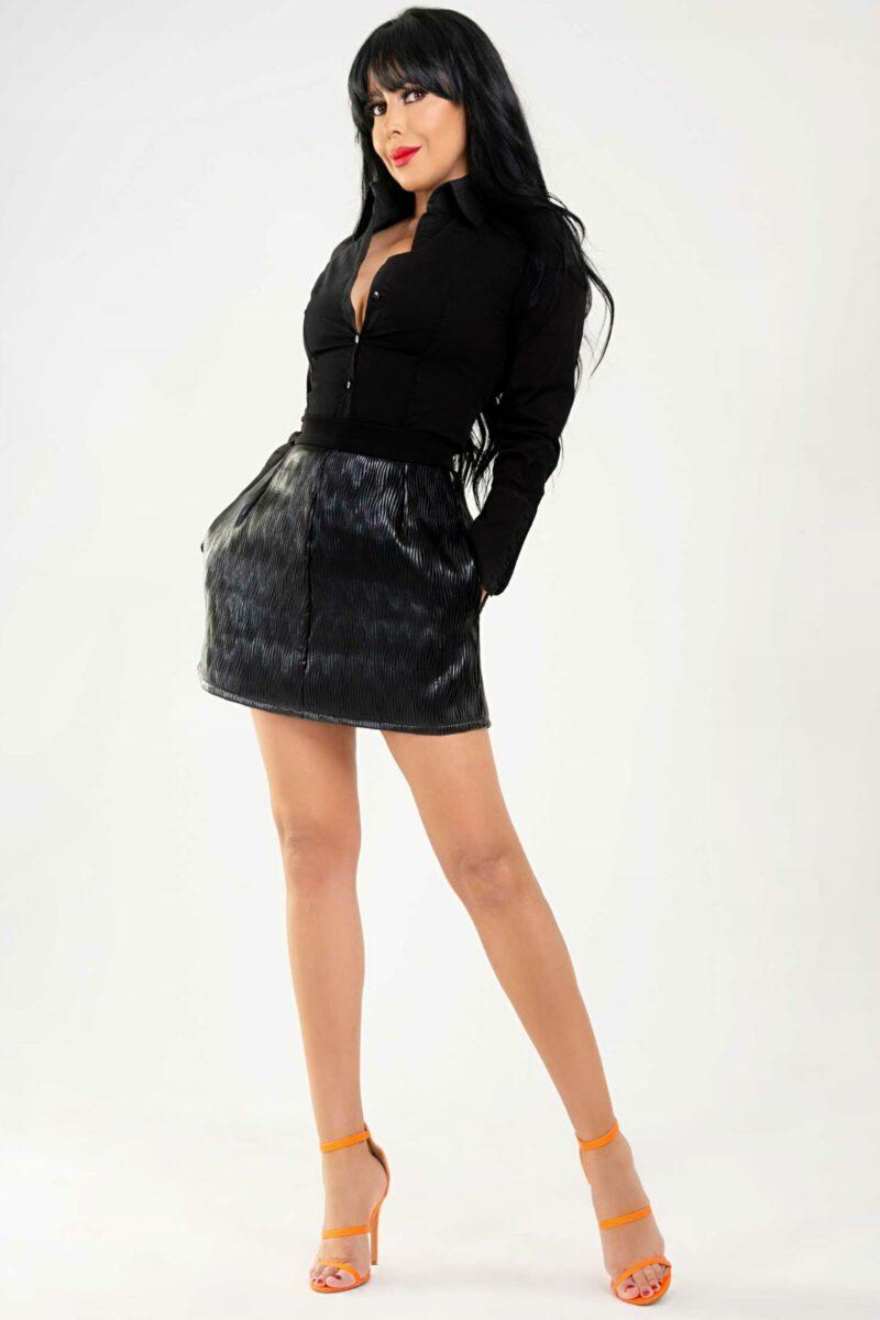 Falda Sofy Cuero1