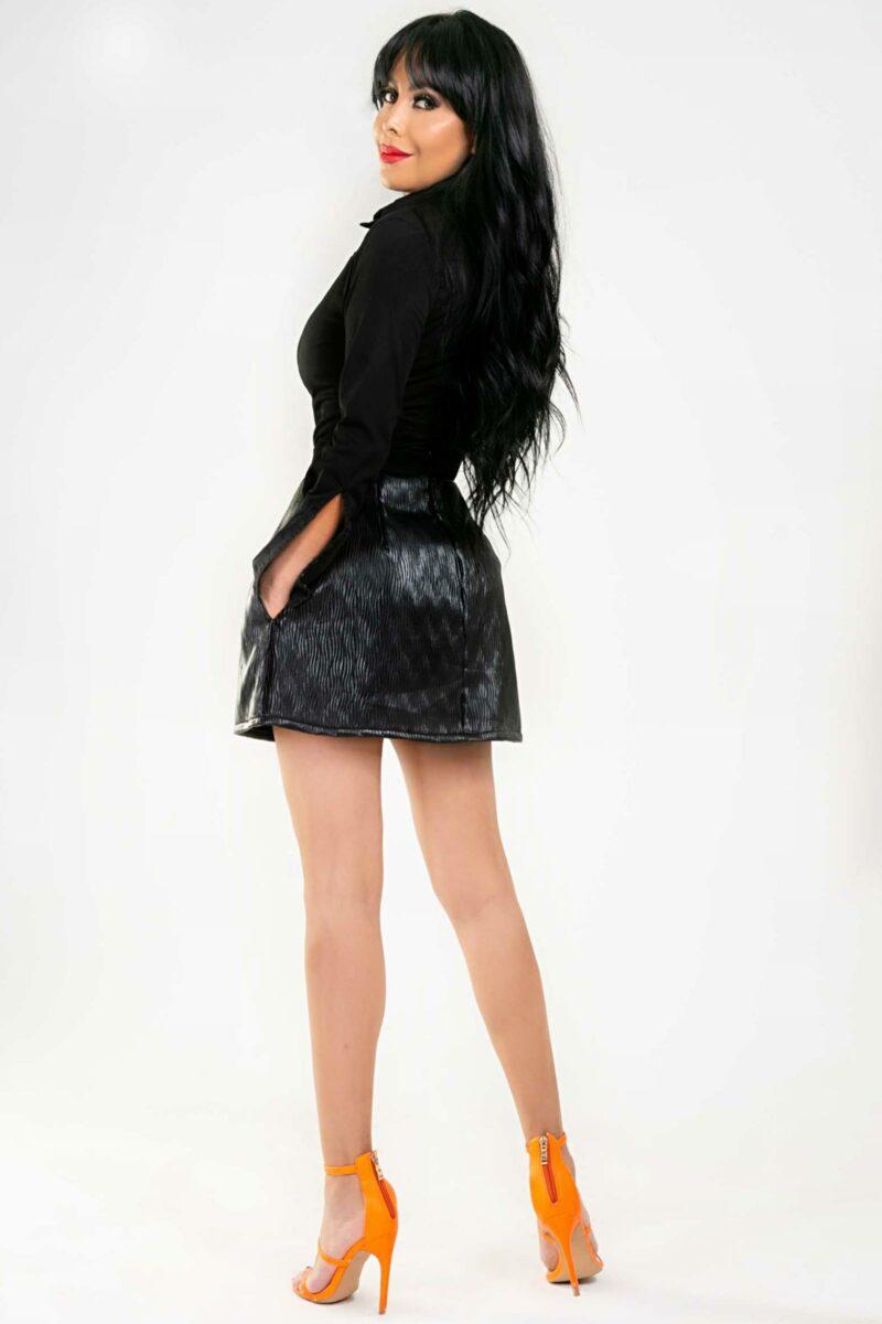 Falda Sofy Cuero4